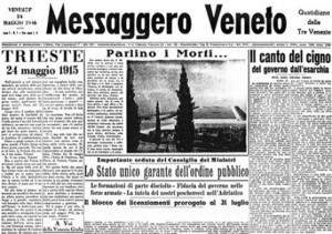 Messaggero Veneto. Il saluto del neodirettore Omar Monestier