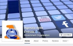 Agenzia delle Entrate chatta con te via Facebook: canone Rai...