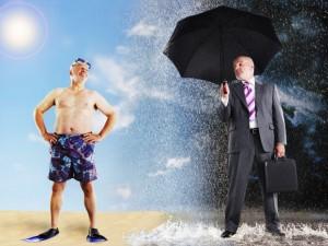 Guarda la versione ingrandita di Meteo: pioggia e temporali al Nord, sole al Sud