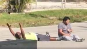 Youtube. Polizia Miami spara a nero. Aiutava ragazzo autistico
