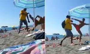 VIDEO YOUTUBE Migrante picchiato in spiaggia: cliente non voleva pagarlo