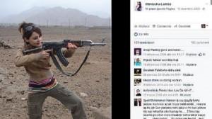 Guarda la versione ingrandita di Minissha Lamba, ragazza col mitra FOTO terroristi è...attrice Bollywood