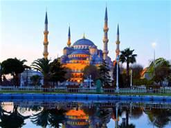 La moschea di Istanbul