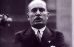YOUTUBE Mussolini nel 1927 parla come Trump con l'accento di Renzi