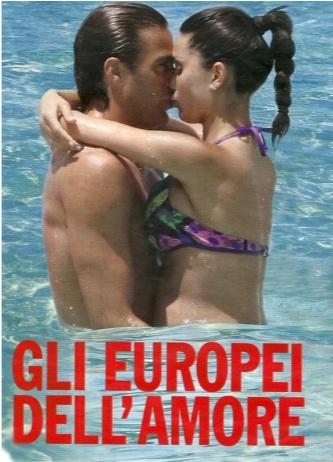 Federica Nargi e Alessandro Matri in vacanza a Formentera e col pancione