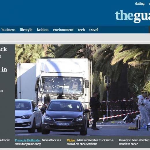 Attentato Nizza, camion killer crivellato di colpi FOTO. Sopra...3