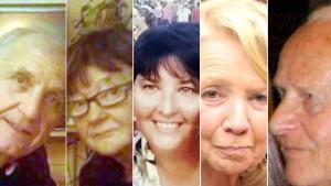 Guarda la versione ingrandita di Nizza, 5 vittime italiane: Carla Gaveglio, Maria Grazia Ascoli, Gianna Muset, Angelo D'Agostino, Mario Casati