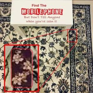 Dov'è nascosto il cellulare nella FOTO? Nuova illusione ottica