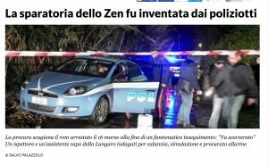 Palermo, poliziotti arrestati. Pm: inventarono sparatoria allo Zen per avere un premio