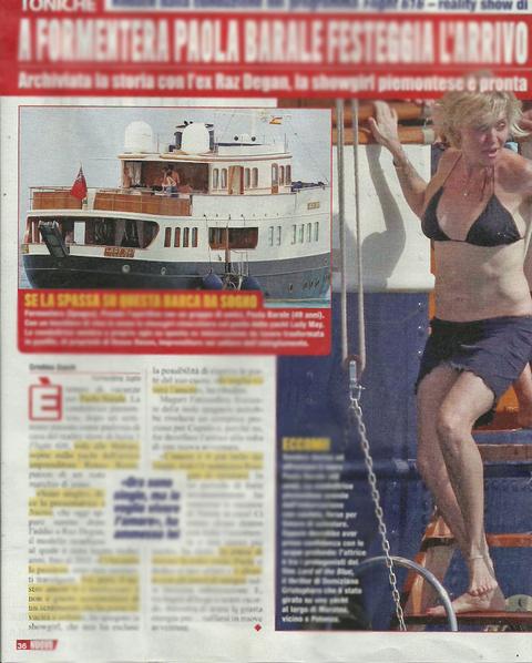 Paola Barale in vacanza a Formentera: dopo il flop in tv si consola con...