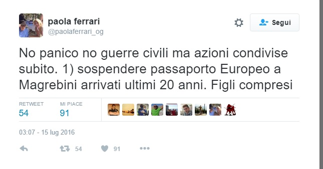 """Paola Ferrari, proposta shock contro i musulmani: """"Dobbiamo..."""""""