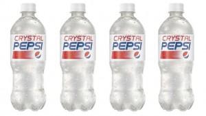 Pepsi Crystal, il ritorno della bibita vintage