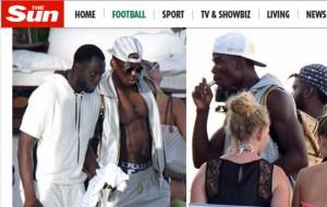 Paul Pogba in vacanza: auto, basket e... sigaretta FOTO