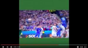 Paul Pogba VIDEO gol Francia-Islanda 2-0