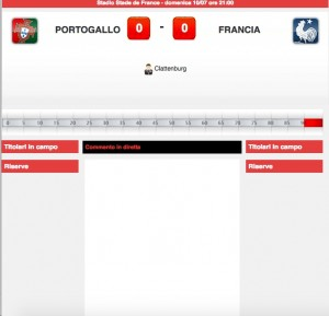 Portogallo-Francia, diretta live finale Euro 2016 su Blitz con Sportal