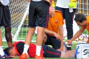 Roma, Mario Rui infortunio choc: si teme rottura del crociato