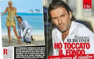 """Rossano Rubicondi ora canta e cucina: """"Lavoro, non me ne vergogno"""""""