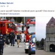"""Matteo Salvini su terroristi Rouen: """"Depressi pure questi?"""""""
