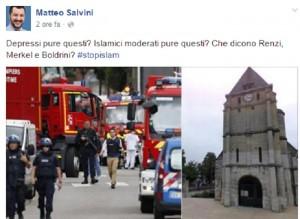 """Guarda la versione ingrandita di Isis: """"Colpire chiese"""". Appello un anno prima di Rouen"""