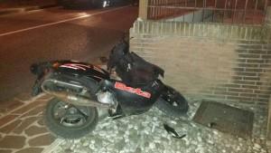 Luigi Medda, con lo scooter contro un muro: morto