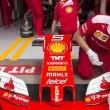 La Ferrari di Sebastian Vettel (foto Ansa)La Ferrari di Sebastian Vettel (foto Ansa)