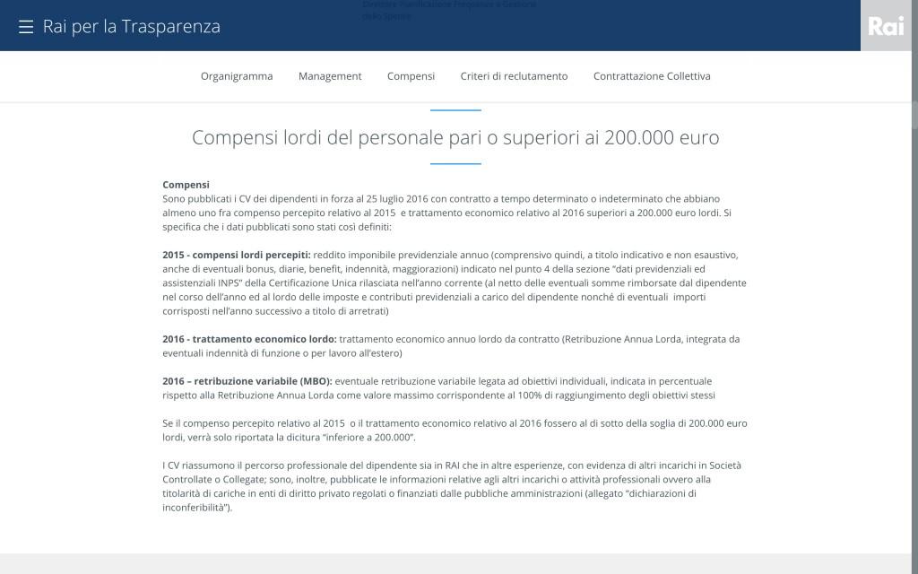 Stipendi Rai over 200 mila: elenco completo dei 94 che prendono più di Putin