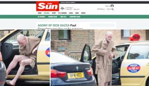 Paul Gascogne ubriaco: FOTO choc all'uscita dal taxi