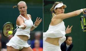Guarda la versione ingrandita di Wimbledon, troppi replay sulle tenniste. Bbc sotto accusa