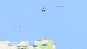 Guarda la versione ingrandita di Terremoto Gargano e Isole Tremiti: scossa 3.5, sentita anche a Vis