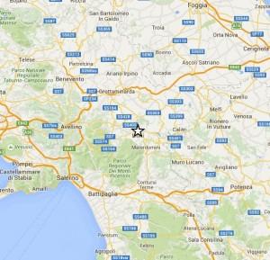 Terremoto oggi Avellino, scossa di magnitudo 2.1