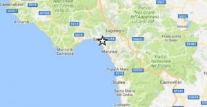 Terremoto Golfo di Policastro: epicentro tra Sapri, Maratea, Rivello...