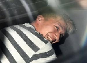 Guarda la versione ingrandita di Tokyo, il killer di disabili e il tatuaggio demoniaco sulla schiena