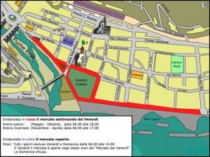 Allarme bomba a Ventimiglia, evacuati mercato e banche