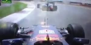 Guarda la versione ingrandita di YOUTUBE Max Verstappen, sorpasso su Nico Roberg sul bagnato