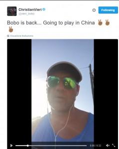 """Bobo Vieri """"is back"""": l'ex bomber della Nazionale torna in campo a 43 anni VIDEO"""