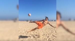 YOUTUBE Zlatan Ibrahimovic rovesciata capolavoro in slow motion