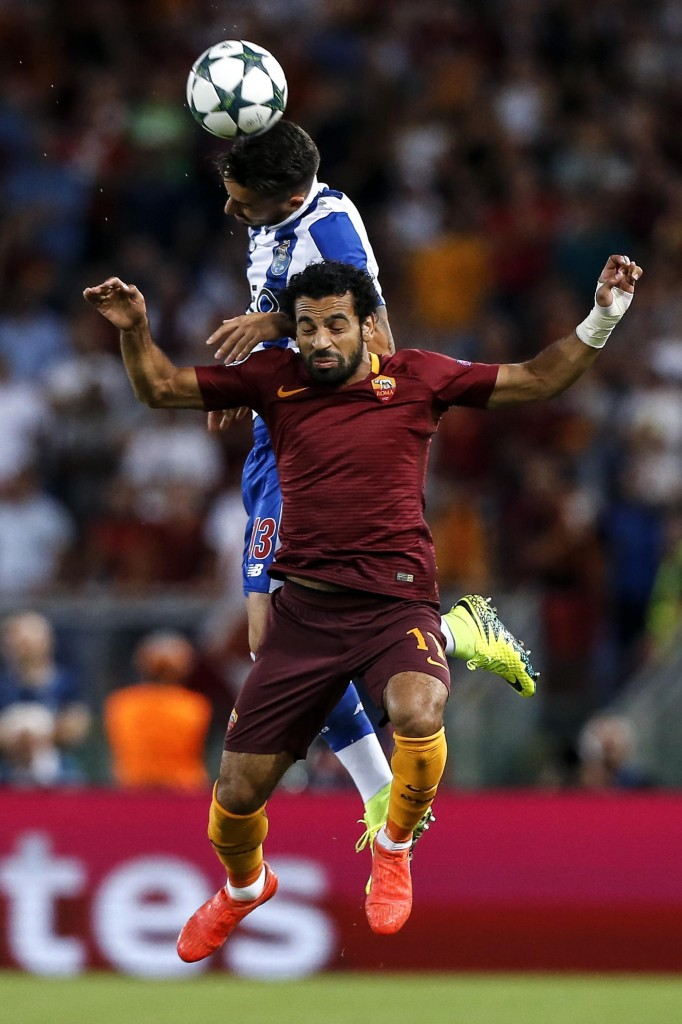 Soccer: Champions League play-off; Roma-Porto