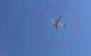 Guarda la versione ingrandita di VIDEO YOUTUBE Qatar Airways, motore in fiamme dopo decollo