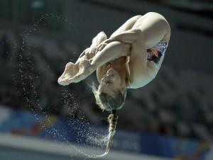 Guarda la versione ingrandita di Rio 2016, Tania Cagnotto si è qualificata per la finale tuffi trampolino 3 metri. Foto Ansa