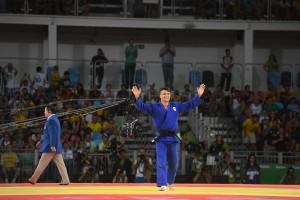 Guarda la versione ingrandita di Rio 2016. Basile ha conquistato il 200° oro nella storia dell'Italia alle Olimpiadi (foto Ansa)