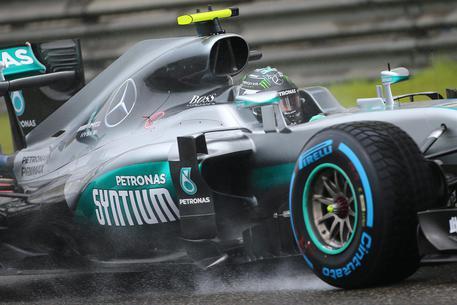 F1, Gp Belgio. Rosberg domina Spa, Ferrari a punti dopo disastro via