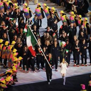 Rio 2016, cerimonia apertura FOTO. Federica Pellegrini splendida portabandiera