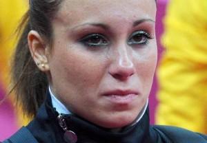Guarda la versione ingrandita di Rio 2016, Vanessa Ferrari ancora lacrime: maledizione quarto posto FOTO ANSA