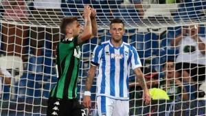 Sassuolo-Pescara 0-3 a tavolino: irregolare il tesseramento di Ragusa
