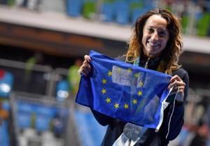 Guarda la versione ingrandita di Rio 2016, Di Francisca contro il terrore e l'Europa ringrazia foto Ansa