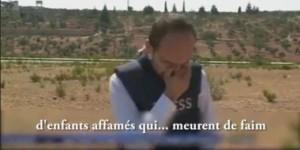 Al Jazeera, inviato piange in diretta Ad Aleppo bimbi senza cibo
