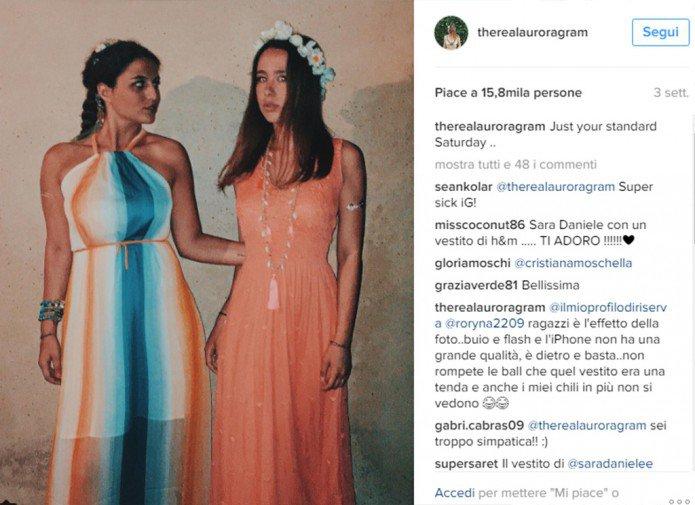 Aurora Ramazzotti e Sara Daniele insieme a Formentera 2
