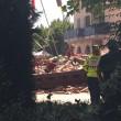 Brescia, crolla struttura a parco acquatico Le Vele FOTO 3