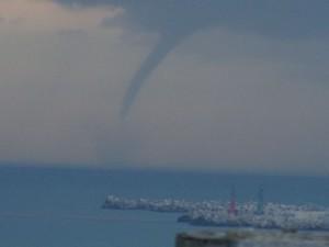 YOUTUBE Capri, trombe marine al largo