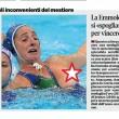 Rio 2016, costume di Giulia Emmolo (Setterosa) scivola e... 01